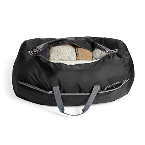 AmazonBasics Large Duffel Bag, Black