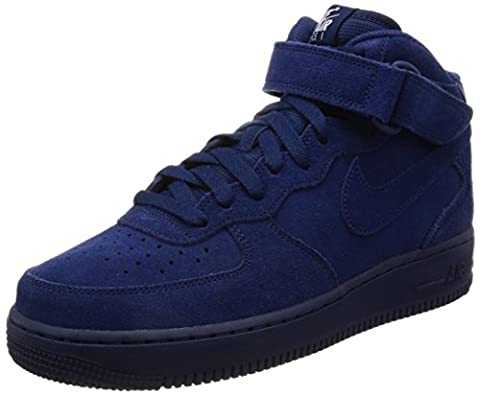 Nike Men's Air Force 1 Mid '07 Binary Blue/Binary Blue/White Basketball Shoe (10)