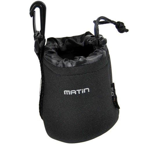 CowboyStudio Matin XL/M/S 3 pcs DSLR Camera Drawstring Soft Neoprene Lens Pouch Bag Cover for Sony Canon Nikon Pentax Olympus Panasonic