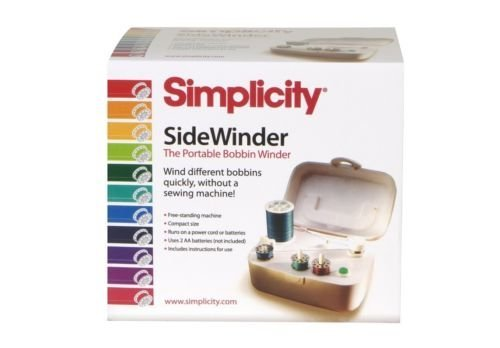 Simplicity SideWinder Portable Bobbin Winder, New (Portable Bobbin Winder)