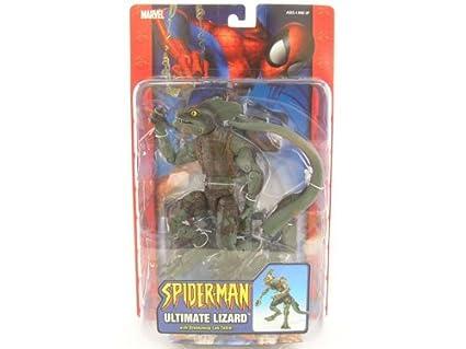 Amazon.com: Spider-Man > Ultimate Lizard Figura de acción ...