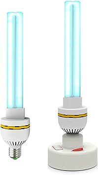 Lámpara de desinfección UV/luz desinfectante portátil/lámpara ...