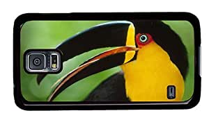 Hipster Samsung Galaxy S5 Case spec colored toucan hd PC Black for Samsung S5