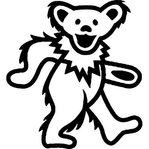 - Grateful Dead Dancing Bear Die-Cut Decal Sticker