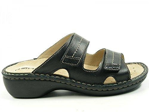 Rohde Fernanda 5777 - Zapatos de cuero para mujer Schwarz