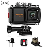 Best Action Cameras - Apexcam Pro 4K WiFi Action Camera,20MP EIS Waterproof Review