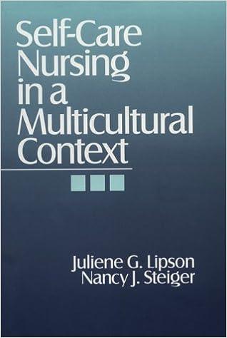Book Self-Care Nursing in a Multicultural Context