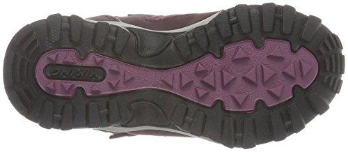 Viking Unisex-Kinder bluster II Schneestiefel Pink (Aubergine/Plum 8362)