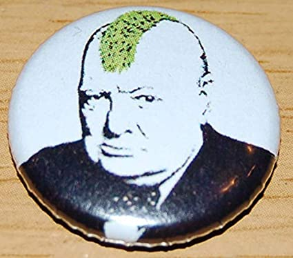 Amazon com : Turf War Banksy 25mm Button Badge : Office Products