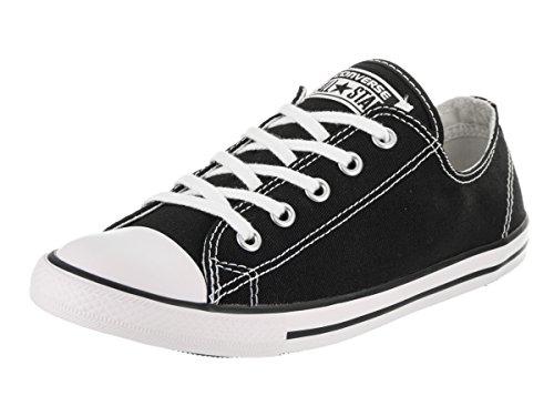 Converse Women's Dainty Canvas Low Top Shoe, black, 8 M - Converse Canvas Shoes