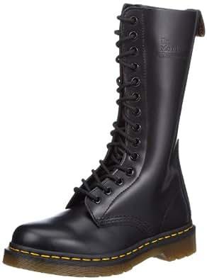 Dr Marten 1914 Black Leather 14 Eyeltes New Mens Unisex Hi Shoes Boots-11