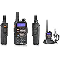 EastVita UV5RE Dual Band Amateur Radio with Earpiece