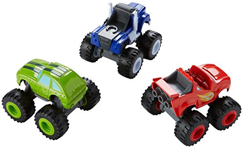 Which is the best pickle blaze and the monster machines?