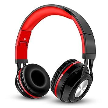 Auriculares Bluetooth, Auriculares inalámbricos 4.2, plegables, protectores de memoria suaves orejeras sobre la