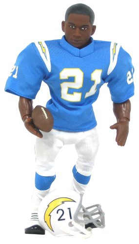 Diego Chargers San Uniform (NFL Action Figure - LaDanian Tomlinson in a Throwback San Diego Chargers Uniform)