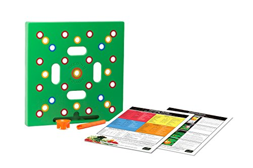Seeding Square - Gardening Template - A Color-coded Seed Spacer Tool For Optimizing and Organizing Your Vegetable Garden