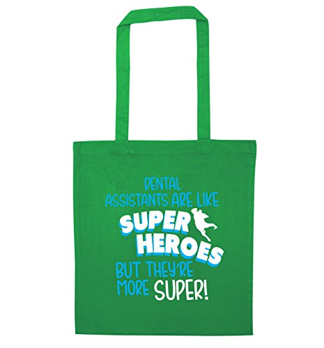Flox Bag Assistants more but Tote Dental superheros Green super like are Creative they're 6rIEqx6