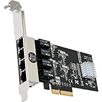 Rosewill RC-NIC413 4 Port Gigabit Card