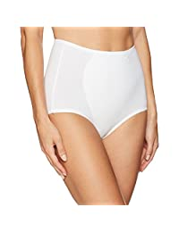 Warner's Women's Boxed Full Control Brief-Cotton-Blend