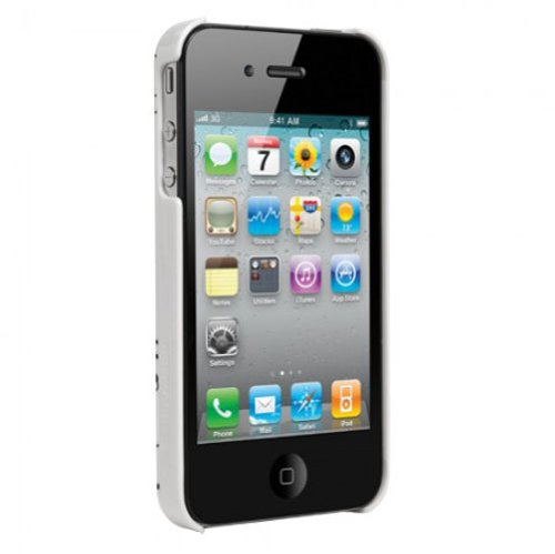 Agent18 KATA18IP41002 Hard Cover für Apple iPhone 4/4S SlimShield Limited Powerlines
