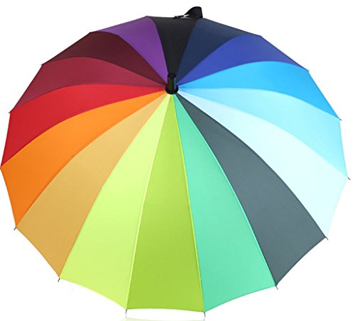 Generic Folding Travel Compact Umbrella Size 60inch Multicolor by Generic