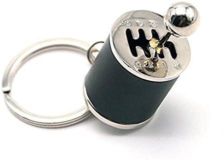 Beito 1PC Kreatives Metall Schl/üSselanh/äNger Autoteil Modell Schl/üSselanh/äNger Getriebe Schl/üSselring Schaltgetriebe Schalthebel Schl/üSselanh/äNger