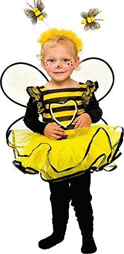Mottoland Baby Und Kleinkinder Kostum Biene Zu Karneval Fasching Gr
