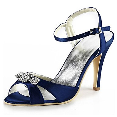 Purple UK7 Blue RTRY EU41 Women'S 8 US9 Stretch Basic Shoes Dark 10 Satin 5 Blue Wedding Party Stiletto Summer 5 amp;Amp; Crystal Heeldark Spring Wedding CN42 Ruby Evening Pump T4dqaSTx