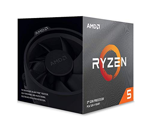 AMD Ryzen 5 3600X, Processore PC, 6 core, 12 thread, 4,4 GHz, Socket AM4