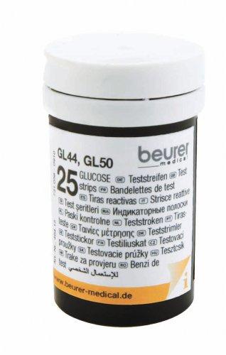 Beurer Teststreifen GL44 / GL50  (2x25er Dose)