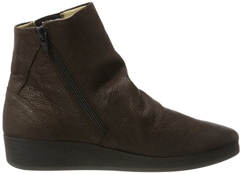 Dark 411 Ayo Boots Softinos Womens Brown Leather SXznAq
