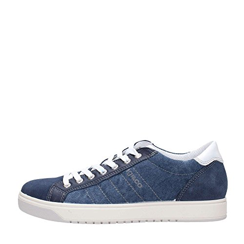 sneakers uomo camoscio blu IGI&CO 77255