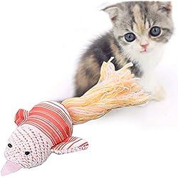 CactusAngui Cat Toy Lovely Cloth Woolen Yarn Bird Shape Pet Cat Kitten Teasing Play Interactive Toy