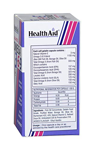 Healthaid Balanced Omega 3.6.9-60 Capsules