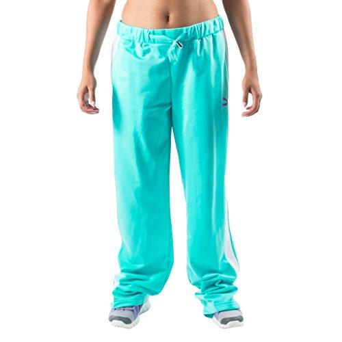Puma Women's Heroes T7 Track Pants XL Blue Curacao