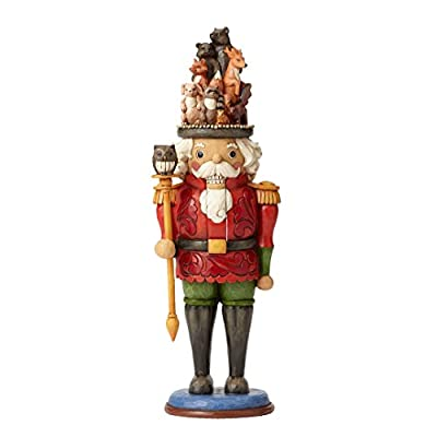 Jim Shore Watchman of the Woods Soldier Woodland Animals Hat Nutcracker 4055055