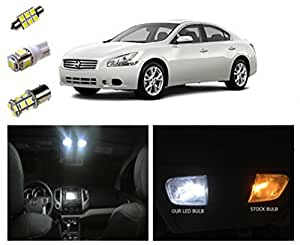 09 15 nissan maxima led package interior tag reverse lights 14 pieces automotive for Interior accent lighting nissan maxima