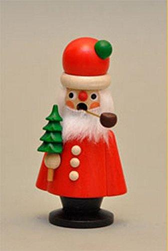 Knox Small Father Christmas Santa Wooden Incense Smoker Made in ()