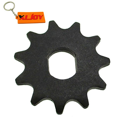 Motor Tooth Sprocket (XLJOY Electric Scooter 11 Tooth Sprocket T8F Chain Motor Pinion Gear MY1020 Motor)
