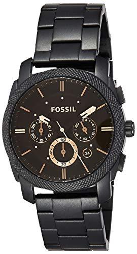 Fossil Herren Chronograph Quarz Uhr mit Edelstahl Armband FS4682 1