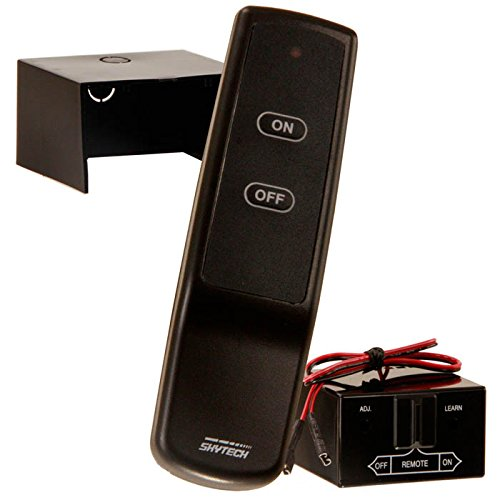 SkyTech Sky-CON Fireplace-remotes-and-thermostats, Black