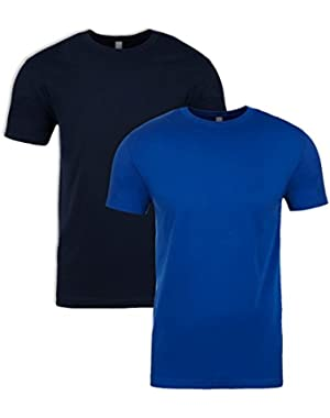 N6210 T-Shirt, Midnight + Royal (2 Pack), Large