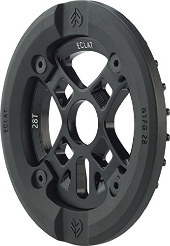 Eclat AK Guard Alex Kennedy Signature Bolt Drive Sprocket with Replaceable Nylon/Fiberglass Guard 28T 24mm/22mm/19mm