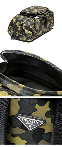 Prada Men's Top Flap Travel Backpack One Size Camouflage by Prada (Image #6)