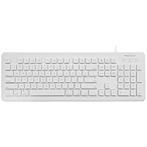 Amazon Com Macally Full Size Usb Wired Computer Keyboard