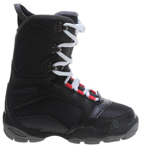 Avalanche Surge Jr Snowboard Boots Black Youth Sz 5