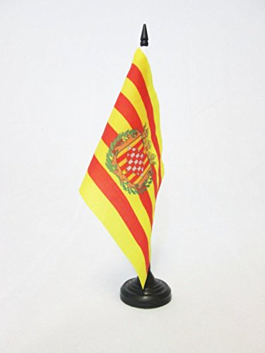 AZ FLAG Bandera de Mesa de la Provincia DE GERONA 21x14cm ...