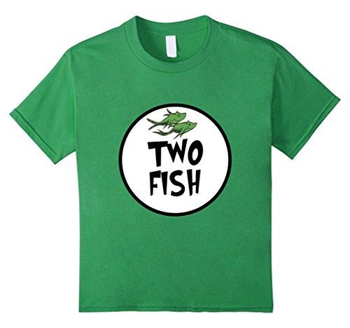 (Kids Cute Rhyming Two Fish T-shirt | Group Matching Costume 4)