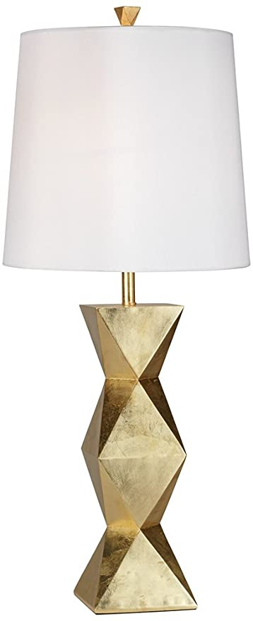 Pacific Coast Lighting Ripley Table Lamp In Gold Leaf Amazon Com