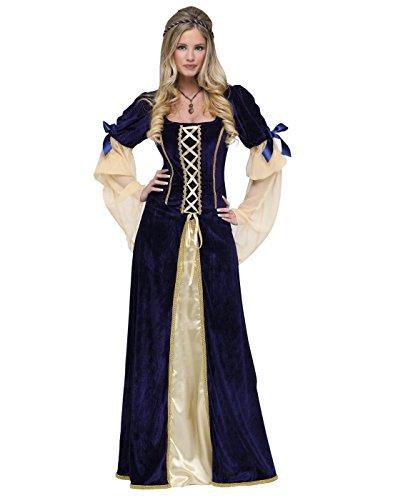 Fun World Women's Maiden Faire Costume, Multi, Large (Maiden Medieval Costume)